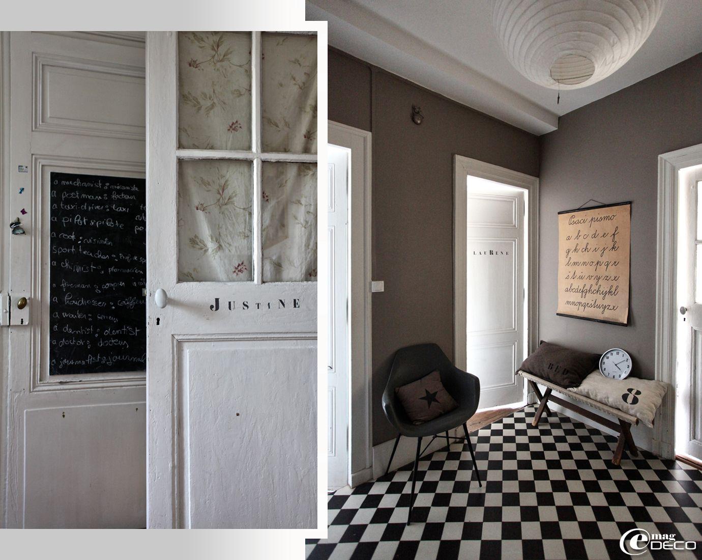 Beautiful Deco Porte Interieure Noire Images - Yourmentor.info ...