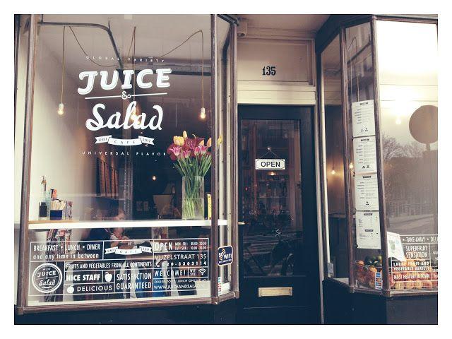 Juice and Salad Amsterdam - Healthy Eats