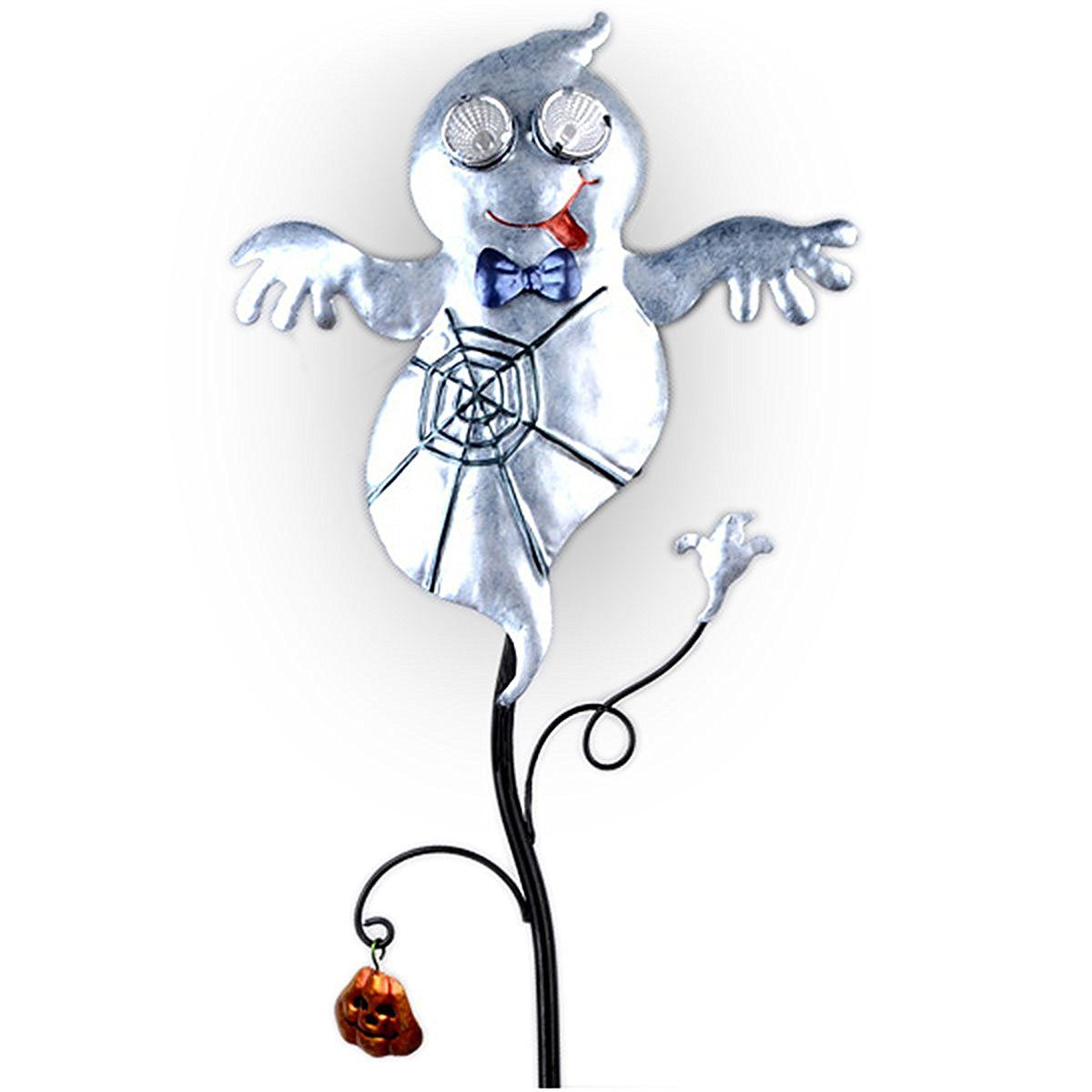 Amazon.com : Goblin Guiders - Solar Powered Halloween Decorative Lights - Friendly Ghost : Patio, Lawn & Garden