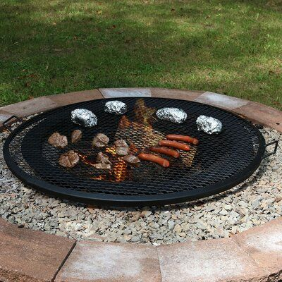 Photo of Freeport Park Omaha Cooking Fire Pit Camping Cookware | Wayfair