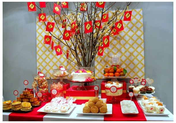 chinese new year & chinese new year | ???? | Pinterest | Dessert table Holidays ...