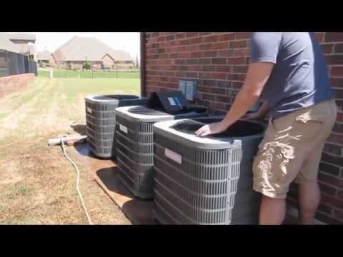 Goodman Condenser Cleaning Multizone Unit Ac Cleaning Clean Air Conditioner Coils Youtube Clean Air Conditioner Ac Cleaning Clean Air
