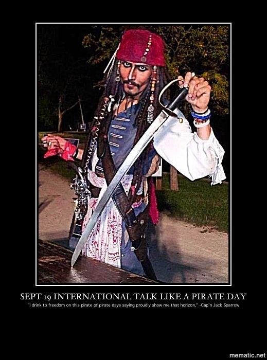 International Talk Like a Pirate Day | International Talk Like a Pirate Day
