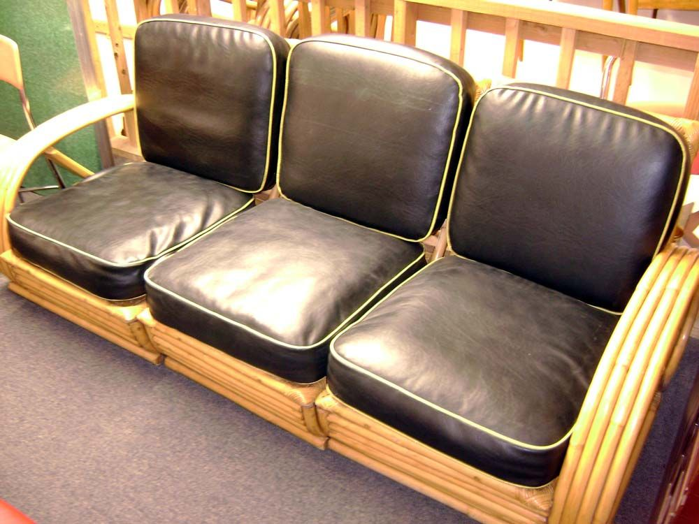 Fine Antique Furniture & of Heywood Wakefield Furniture Styles to choose  from - Vintage Bamboo Sofa - Heywood Wakefield Chairs Antique Antique Furniture
