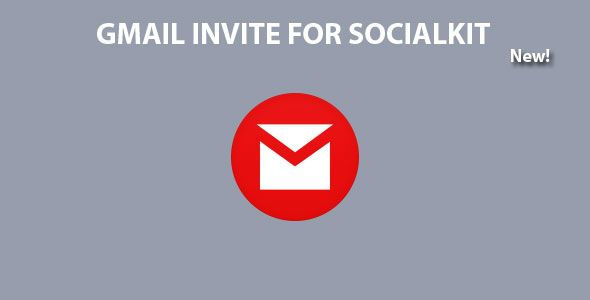 Gmail Invite For Socialkit is an addon that enable user to invite