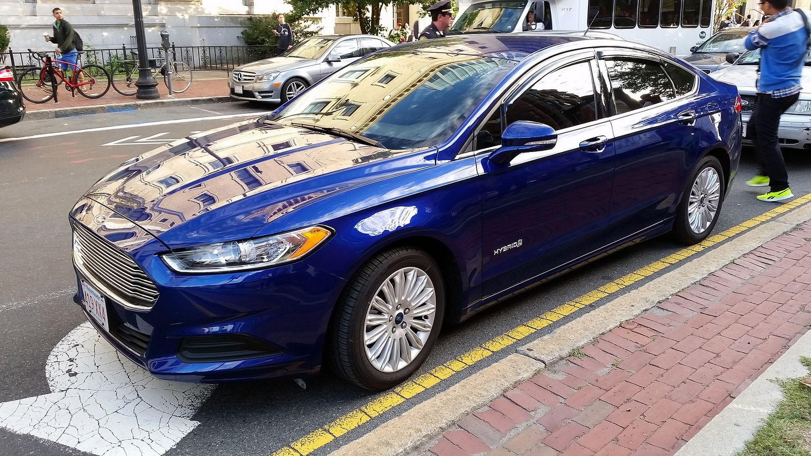 Boston Police Unmarked Ford Fusion Com Imagens