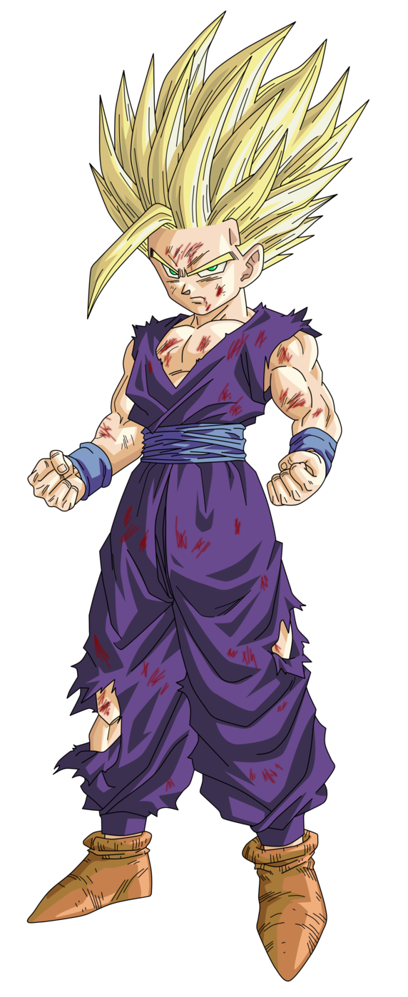 Ssj 2 Gohan Render Extraction Png By Tattydesigns Anime Dragon Ball Dragon Ball Super Dragon Ball Art