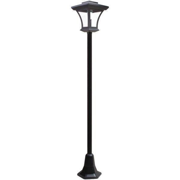 Solar Outdoor Led Post Light Rethink 155022 Old Lamp