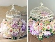 birdcage decor.  Flowers less full, though.