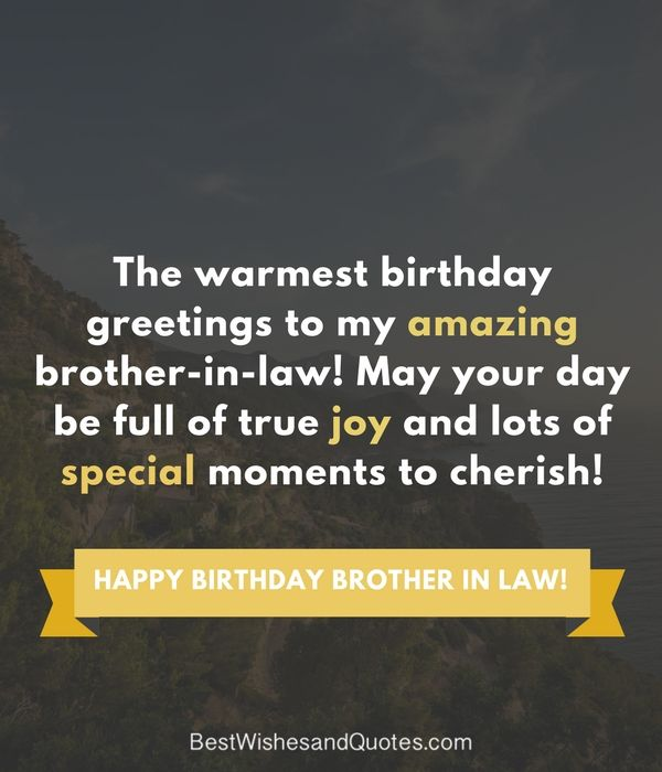 Happy Birthday Brother In Law Birthday Wishes Birthday Wishes For Brother Birthday Brother In Law Brother Birthday Quotes