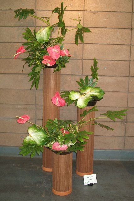 Ikebana International SF Chapter  flowers show 2007