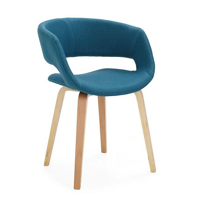 Joyau Chaise A Accoudoirs Bleu Chaise Accoudoir Mobilier De Salon Chaise De Bureau Design