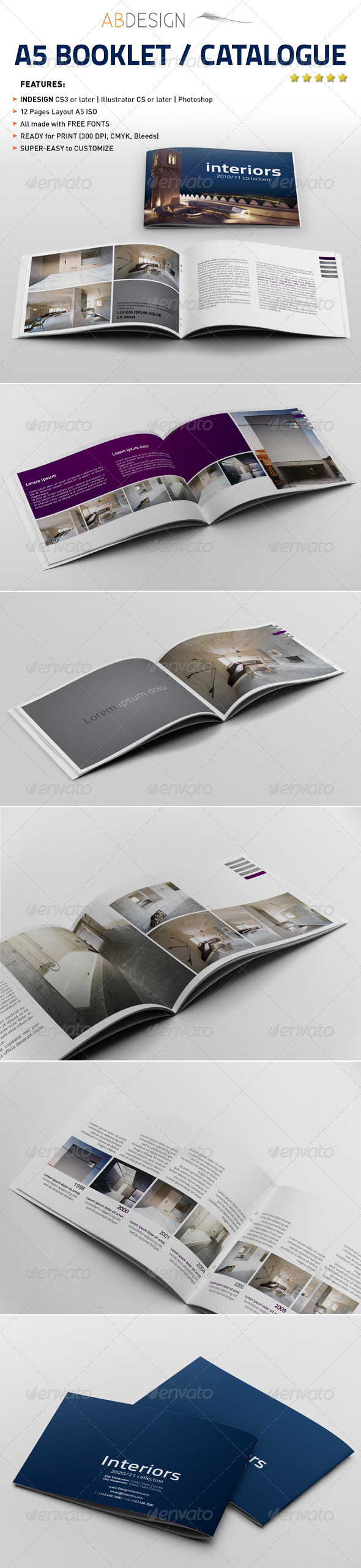 A Booklet Catalogue Brochures Corporate Brochure And - Brochure booklet templates