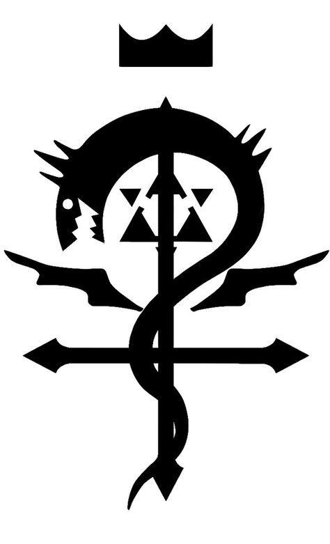 fma flamel ouroboros by thecub001 fullmetal alchemist pinterest anim alchimie et jeux vid os. Black Bedroom Furniture Sets. Home Design Ideas
