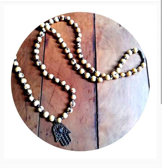 ❁Colar Coleção Sementes ☮ Hamsa ✾ Vendas on-line @kurusgilabohemian