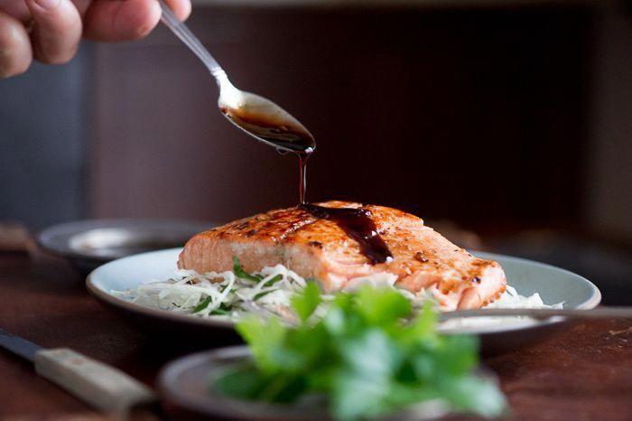 Teriyaki-style Pan Seared Salmon - #salmon #seared #style #teriyaki - #new #salmonteriyaki Teriyaki-style Pan Seared Salmon - #salmon #seared #style #teriyaki - #new #salmonteriyaki