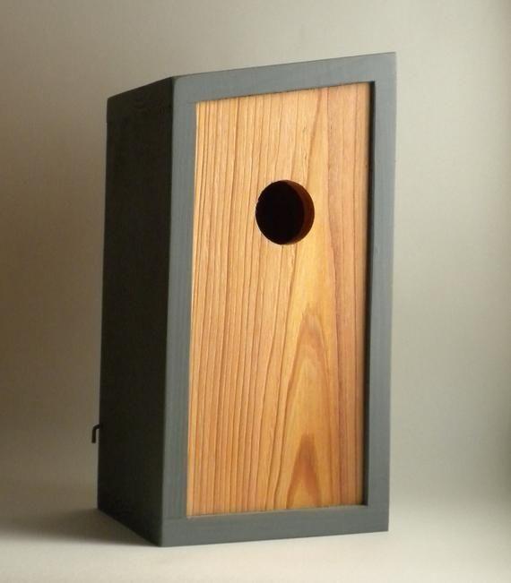 Taupe Farbe Dekorative Ideen Für Ihr Zuhause: Vogelhaus, Moderne Minimalistische-stumpf Vogelhaus