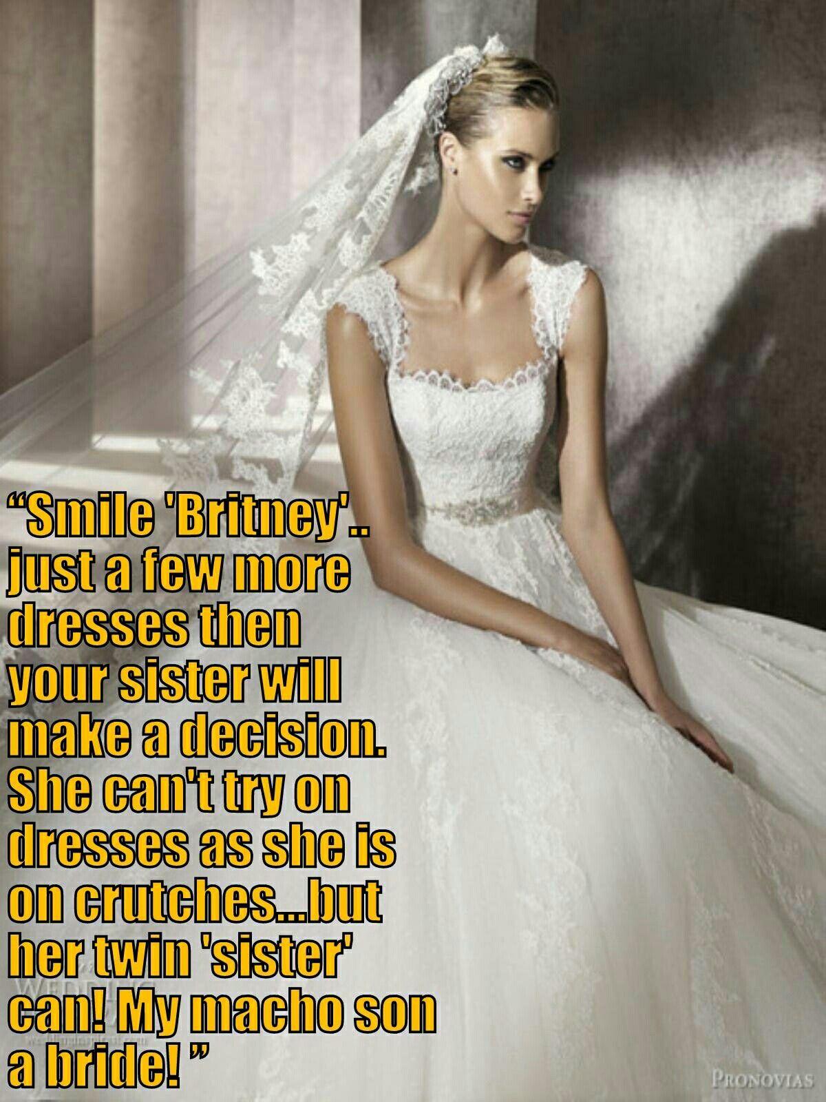 stories Transvestite bridesmaid