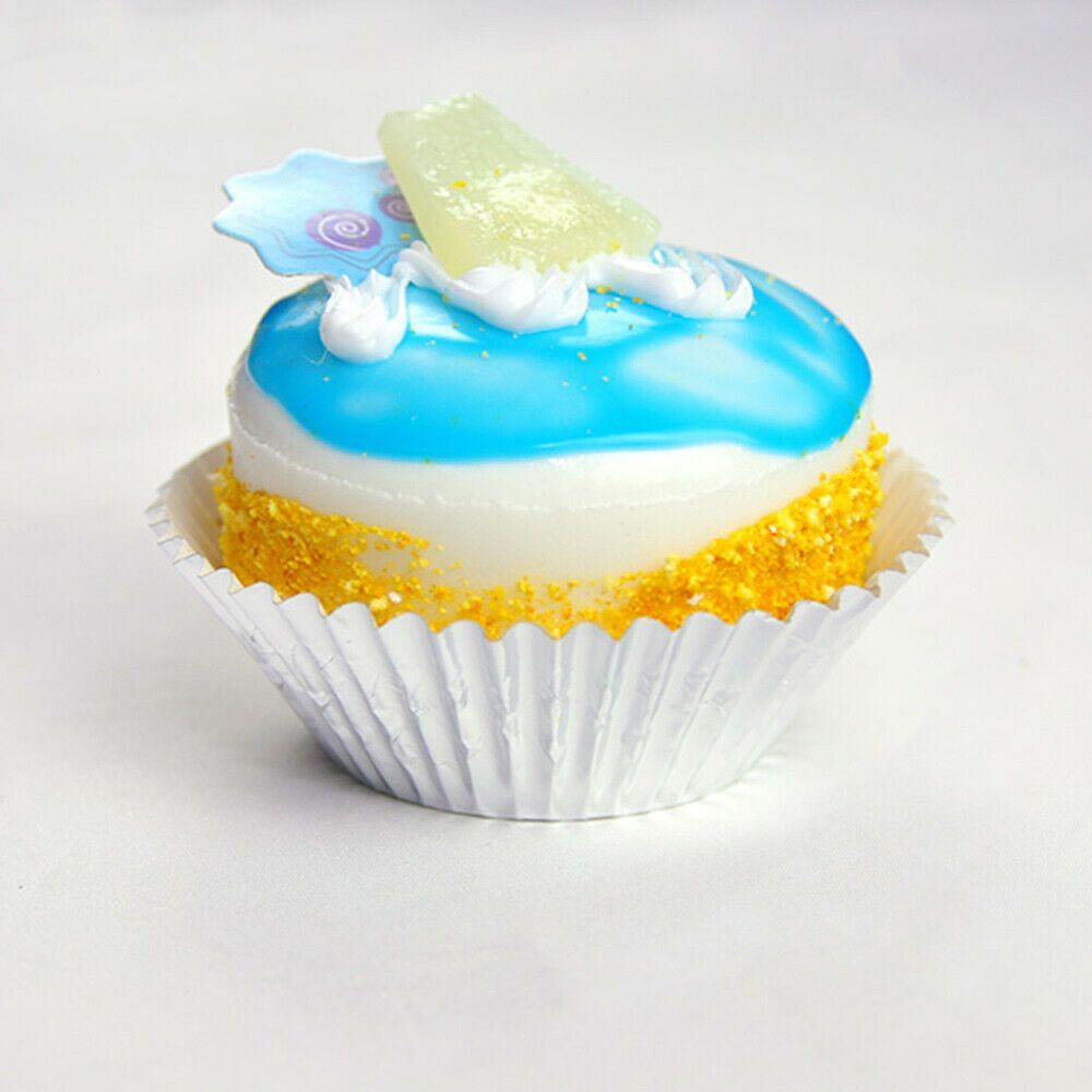 100pc Standard Size Shiny Metallic Silver Baking Cupcake Muffin