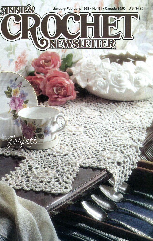 Annie\'s Crochet Newsletter No. 91, January-February 1998 ~ 17 ...