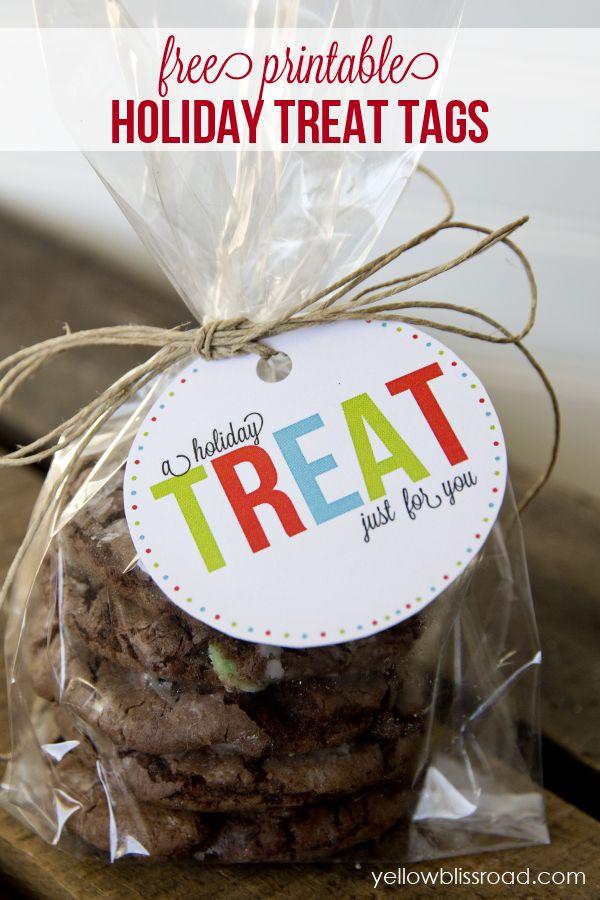 Free printable gift tags christmas treat bags free printable free printable gift tags negle Gallery