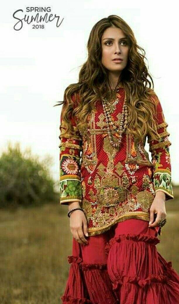 Ayeza khan | Sewing patterns | Pinterest | Ayeza khan, Pakistani and ...