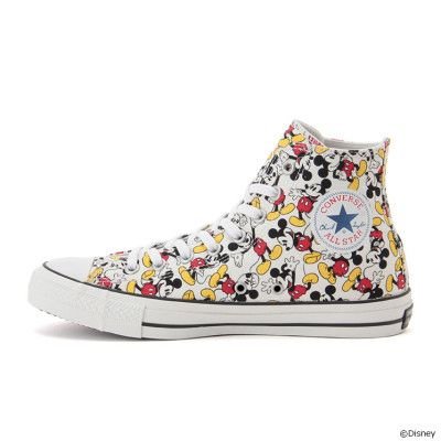 Converse Chuck Taylor ALL STAR 100 MICKEY MOUSE PT HI 2017