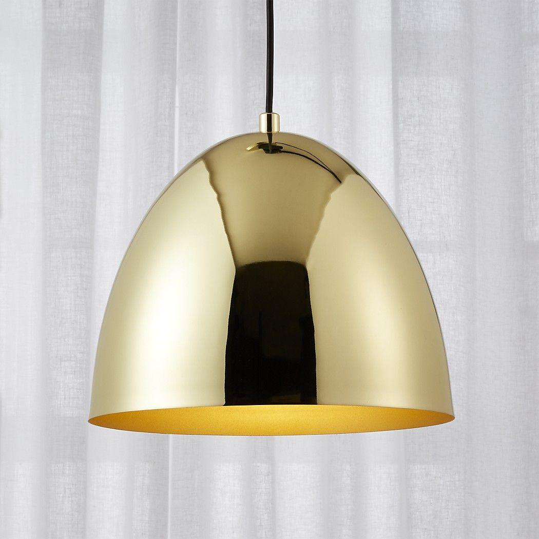 Shop Capitol Small Brass Bell Pendant Light Shiny Brass Bell Shaped Pendant Light Rings With Refinement Pendant Light Modern Pendant Light Glass Pendant Light