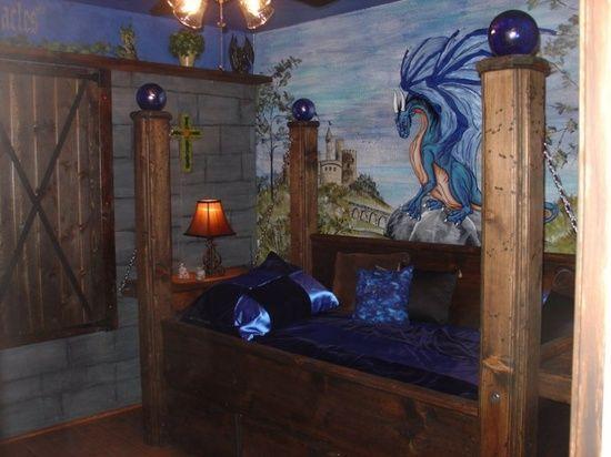 1000 Images About Children S Bedroom Ideas On Pinterest: Boys Castle Dragon Bedroom