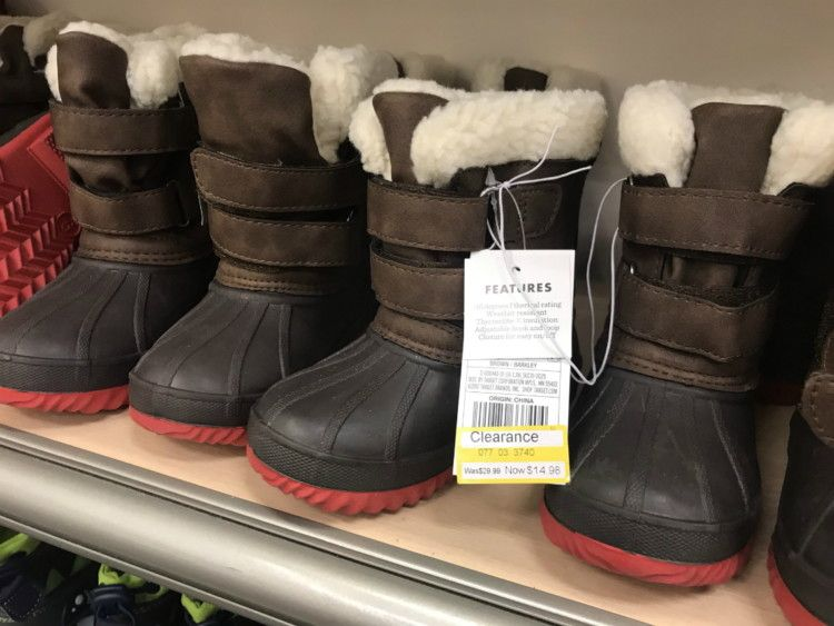 Target Toddler Boy Winter Boots in 2020