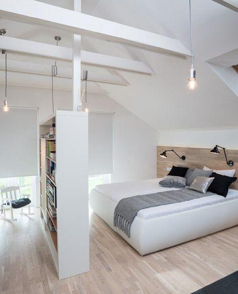 slaapkamer inspiratie schuin dak - Wooninspiratie Roobol | дом ...