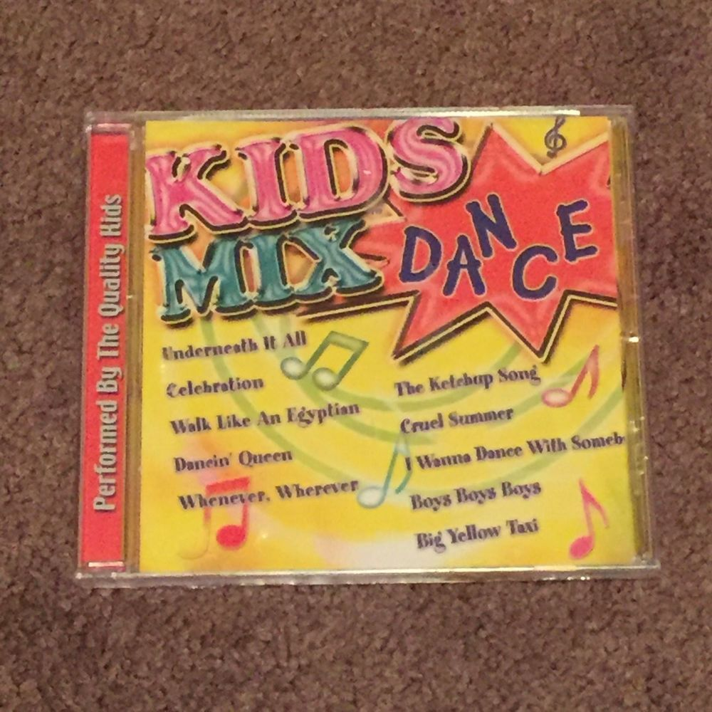 quality kids cd kids mix dance walk like an egyptian the ketchup