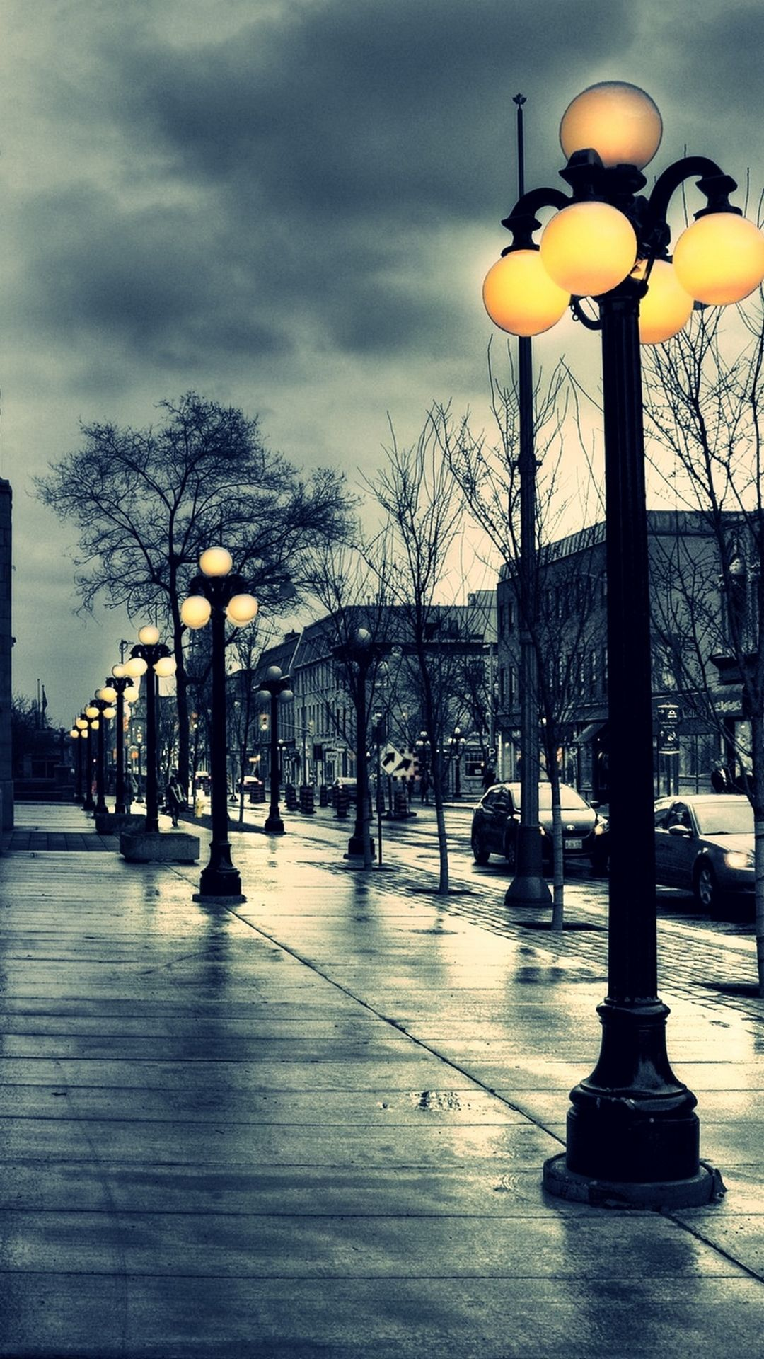 mobile hd wallpapers-down the street hd mobile wallpaper | http
