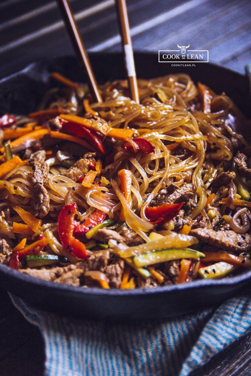 Chow Mein Z Makaronem Ryzowym Cook It Lean Sprawdzone Paleo Przepisy Cooking Asian Recipes Keto Recipes Dinner