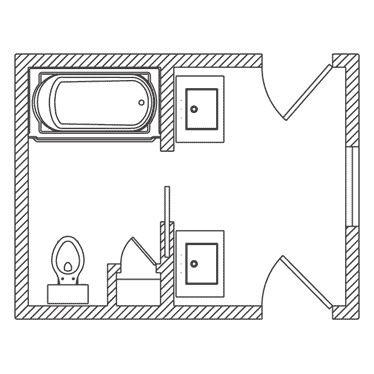 Photo of 21 Bathroom Floor Plans for Better Layout