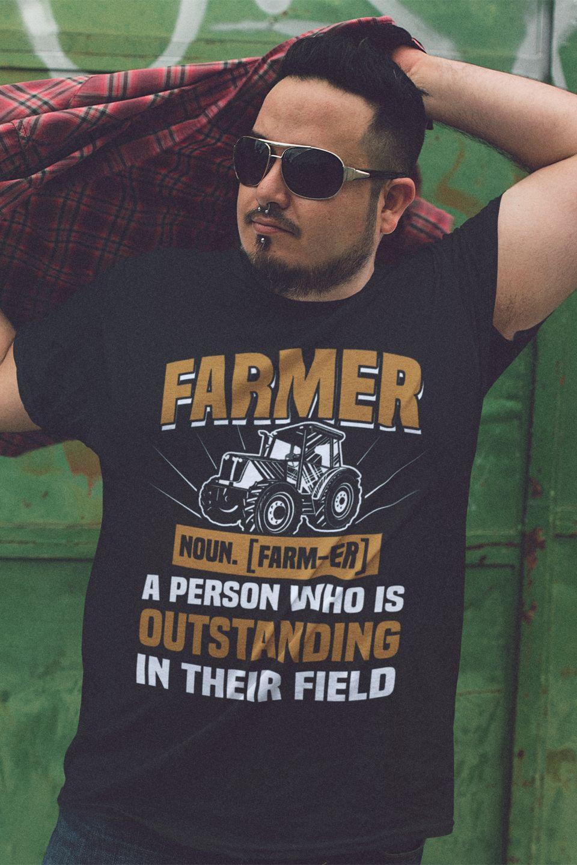 Funny Farmer Definition Farmer Gift Design available