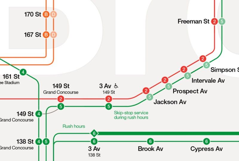 The New York City Subway Map Redesigned Tommi Moilanen
