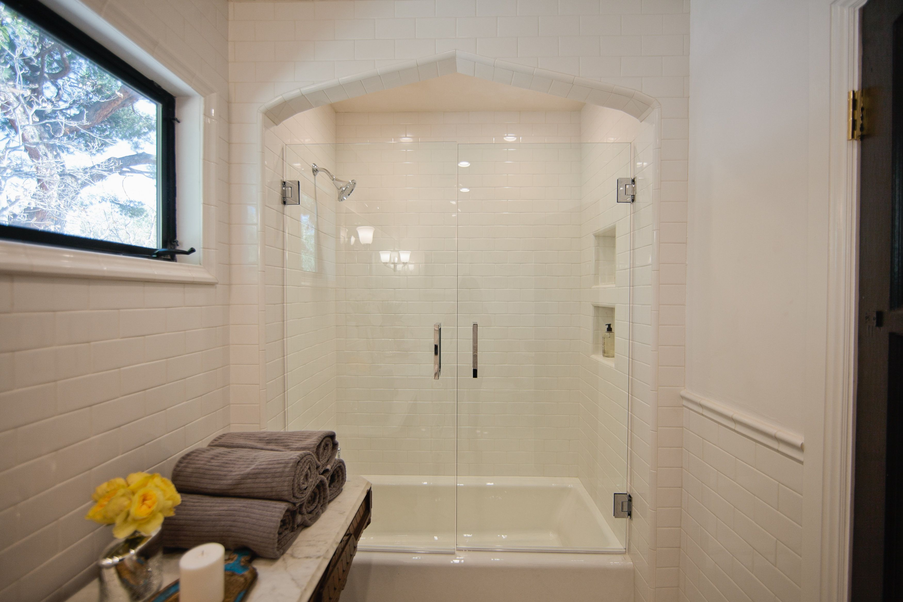 #Teamred #Bathroom #Dreambuilders Great Idea For Making A Tub Or