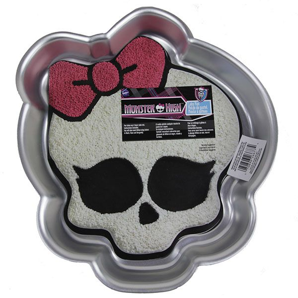 Character Amp Wilton Shaped Pans Monster High Cake Pan By