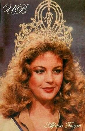 Miss Universe 1981 Irene Saez Beauty Pageant Beautiful Inside And Out American Classics