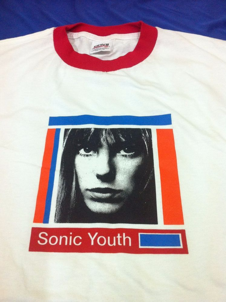5d4e68a0 Vintage Sonic Youth T Shirt 90s Nirvana Mudhoney Sebadoh Smashing ...