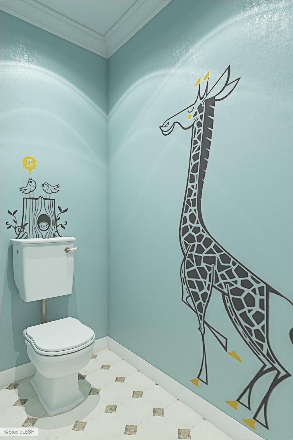 Прикольные рисунки на стенах комнат