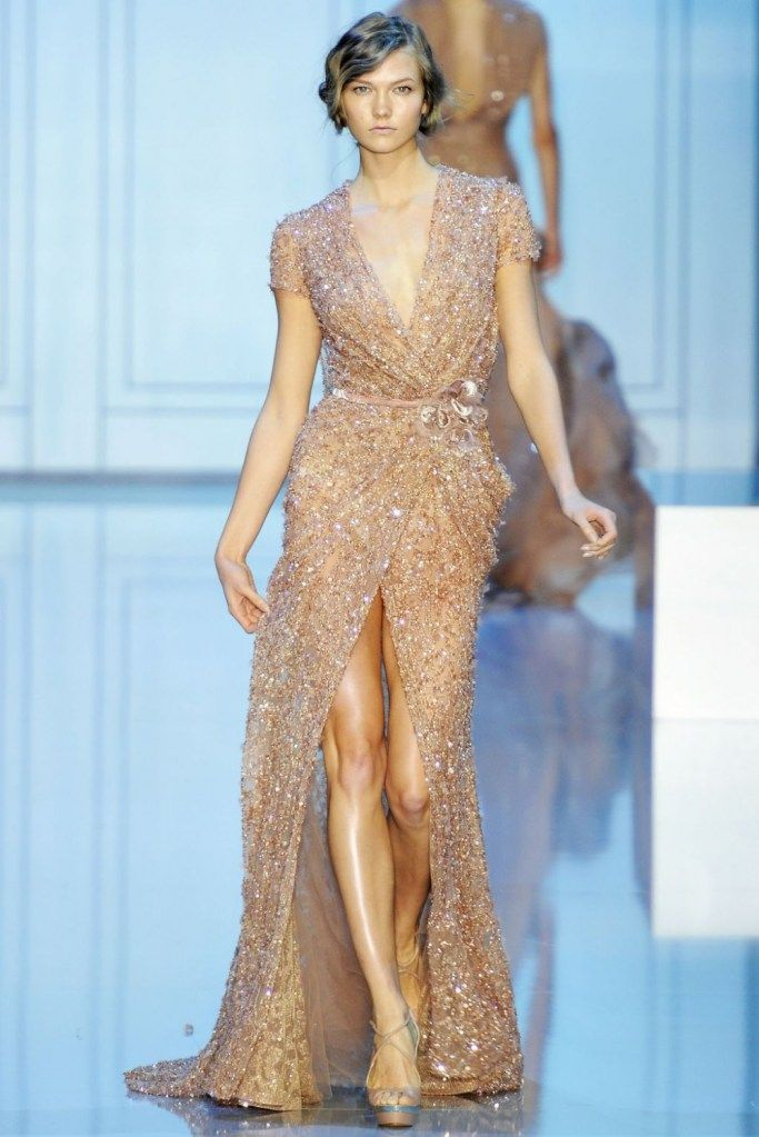 absolutely stunning!  Ellie Saab. - If I were a WAG (and the body) I would wear this dress to the Award Ceremony's