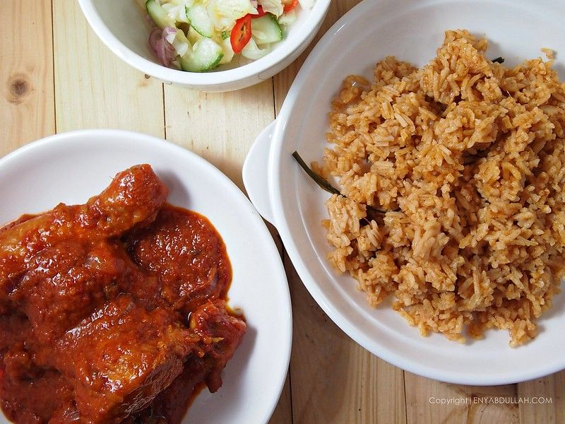 Nasi Tomato Utara Nasi Tomato Kedah Ayam Masak Merah Sedap Resepi Nasi Tomato Resepi Ayam Masak Merah Acar Jelat Resep Masakan Malaysia Makanan Resep Ayam