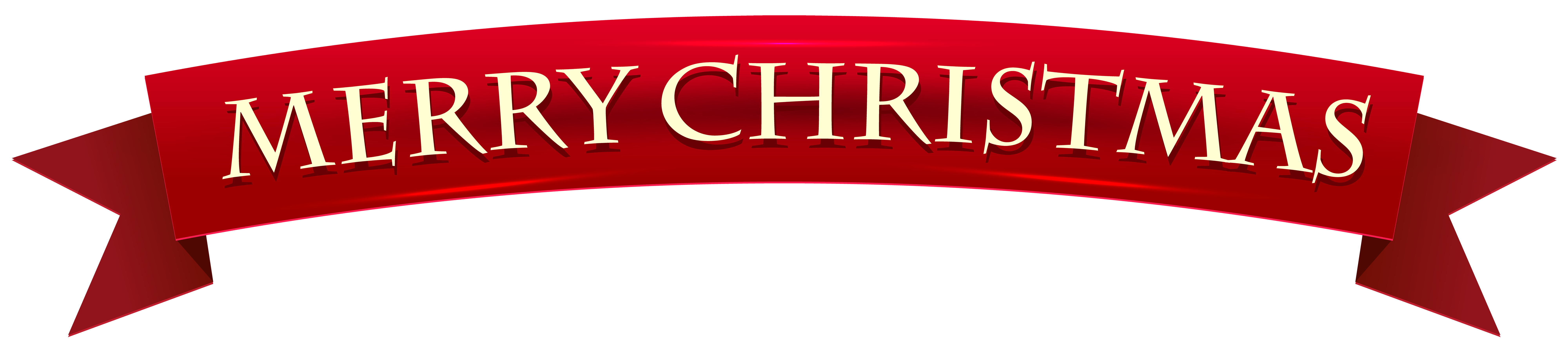 hight resolution of banner merry christmas transparent clip art image
