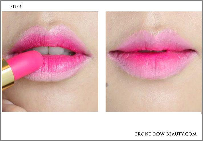 Gradient Lips Tutorial With Chanel Rouge Allure Velvet 42