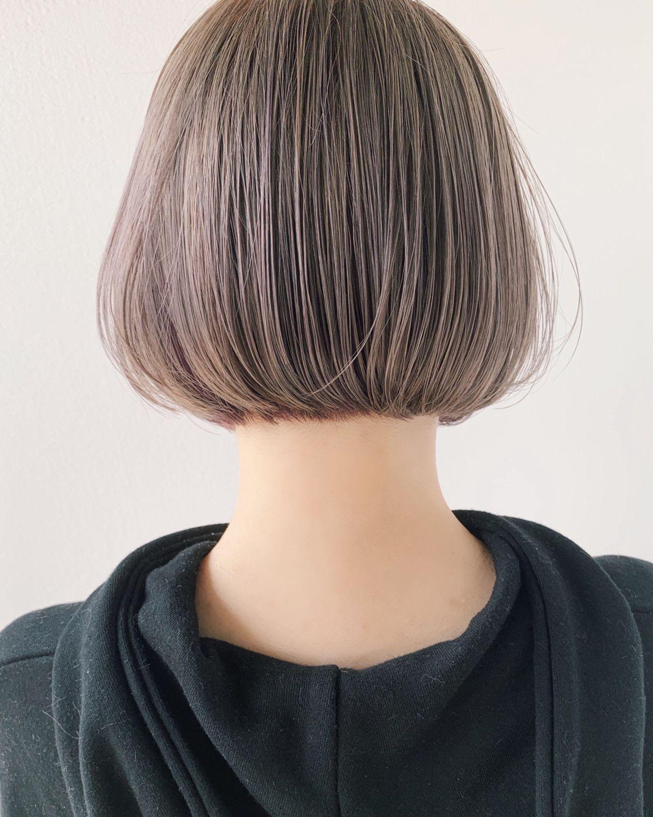 惚れ惚れする髪色みっけ 色落ちしても可愛いミルクティーカラー 髪