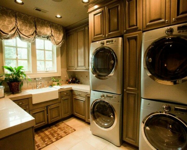 So Wish This Was My Laundry Room Amazing Homes Rooms Pinterest