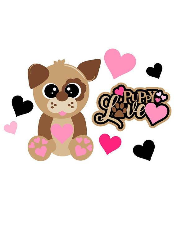 Download DOG~Valentine svg puppy love   Valentines svg, Dog ...