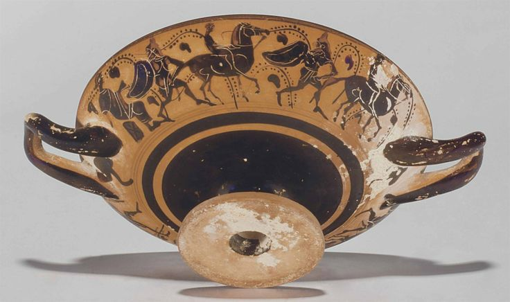 AN ATTIC BLACK-FIGURED NECK-AMPHORA , ATTRIBUTED TO THE